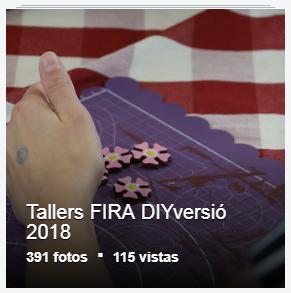 Tallers FIRA DIYversió 2018
