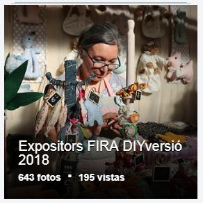 Expositors FIRA DIYversió 2018