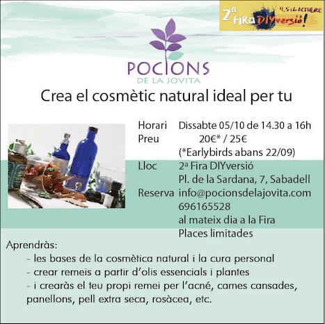 Crea el còsmetic natural ideal per tu