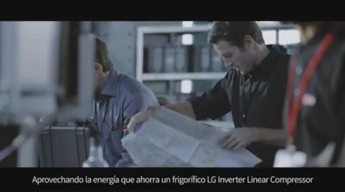 Rodatge spot frigorífics LG